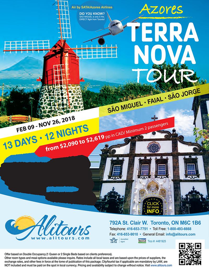 AZORES-3 Island Tour